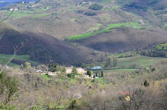 Borgo di Carpiano: borgo dall'alto