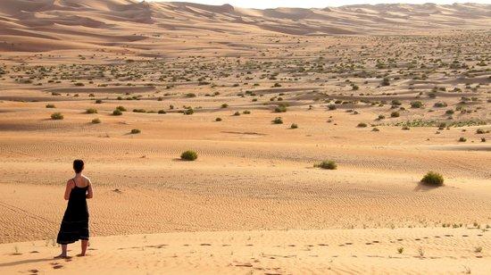 Qasr Al Sarab Desert Resort by Anantara: View to Die for