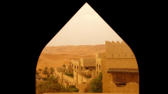 Qasr Al Sarab Desert Resort by Anantara: Inside out !