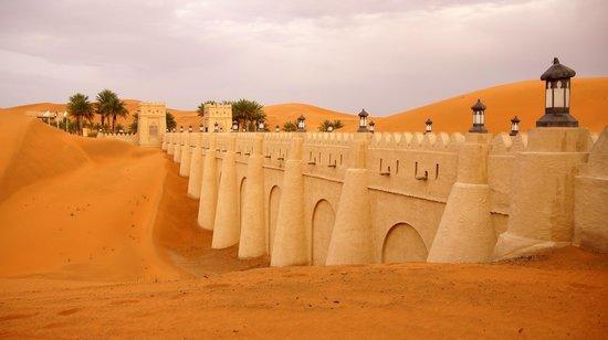 Qasr Al Sarab Desert Resort by Anantara: Stunning Entrance