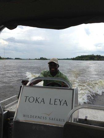 Wilderness Safaris Toka Leya Camp: Liver Tour