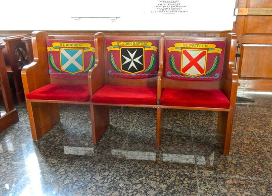 Christ Church Cathedral : Seats for the Saints