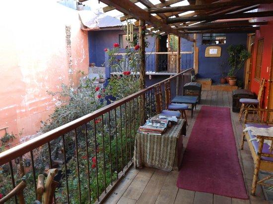 Casa Panqarani: L'accès aux chambres