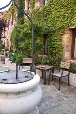 Eurostars Residenza Cannaregio: Uno de los patios interiores.