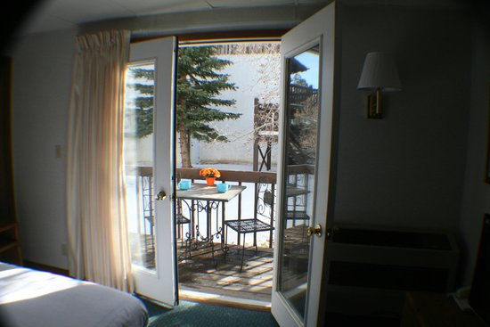 Bavarian Inn, Black Hills: Private Balcony