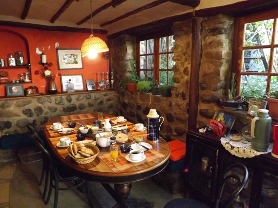 Casa Panqarani: Petit déjeuner