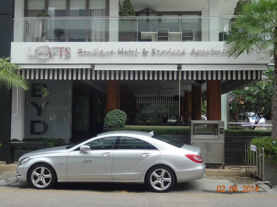 BYD Lofts Boutique Hotel & Serviced Apartments: Hotel Front (Main Bldg)