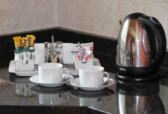 Lincoln Cottages: Compimentary teas and coffee