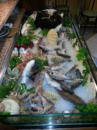 Ristorante da Gino: Crudo di pesce