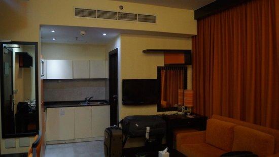 Marina View Hotel Apartments : номер