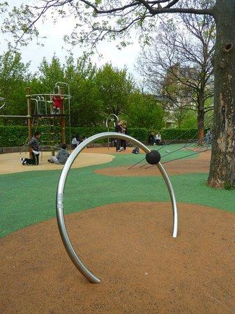 Le Parc Philippe Pinel : jeux