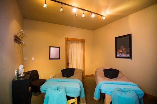 North Lake Massage & Skin Care: Couples Massage Room