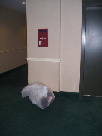 NH New York Jolly Madison Towers: rubbish left in corridor overnight