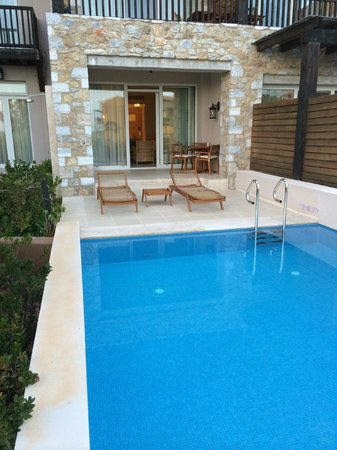 The Westin Resort, Costa Navarino: Private pool