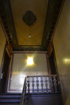 Upper Room Hotel: Художество на потолке