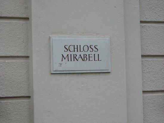 Palais et jardins de Mirabell : Визитка Дворца