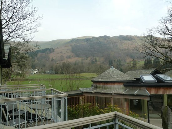 Rothay Garden Hotel: View of spa from Room 16