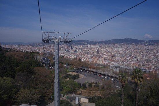 Parc de Montjuic : вид с телеферика
