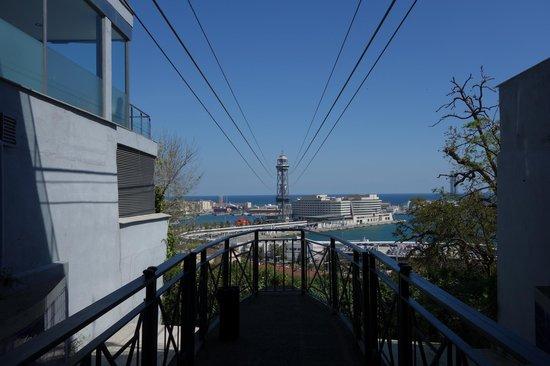 Parc de Montjuic : канатная дорога в порт