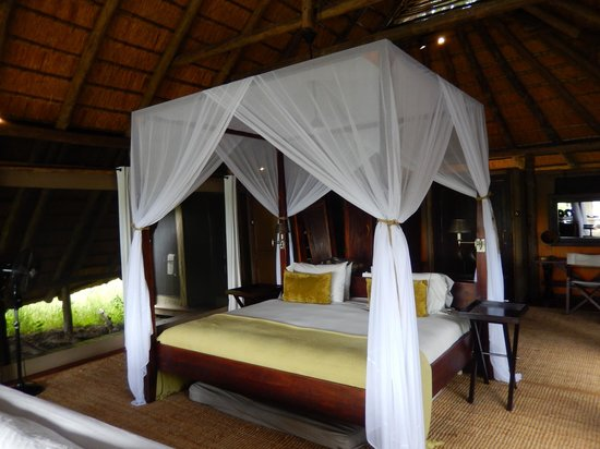 Wilderness Safaris Kings Pool Camp: Sleeping area