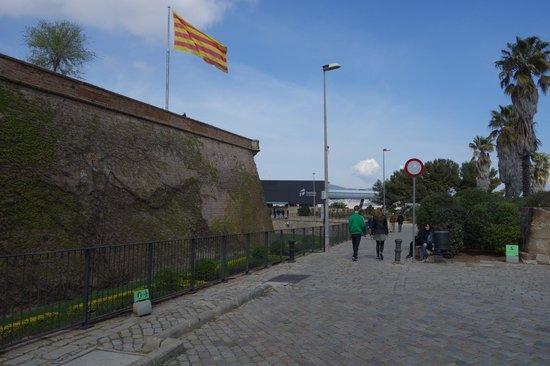 Parc de Montjuic : крепость