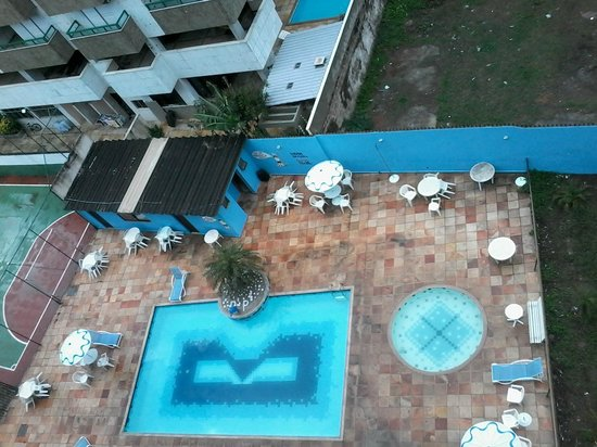 Residencial Porto Principe: Vista da Piscina do Residencial Porto Príncipe