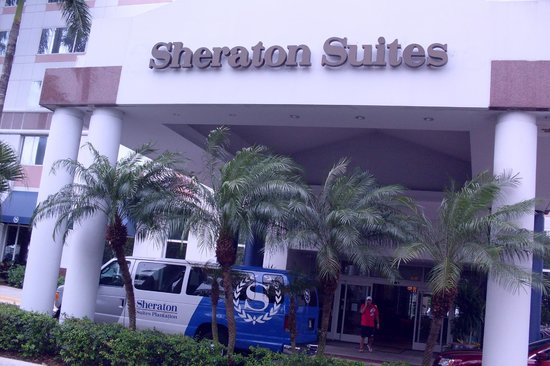 Sheraton Suites Fort Lauderdale Plantation: So says the sign