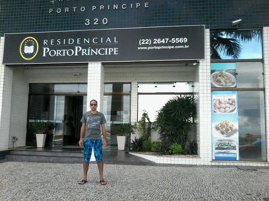Residencial Porto Principe: Faxada do  Residencial Porto Príncipe