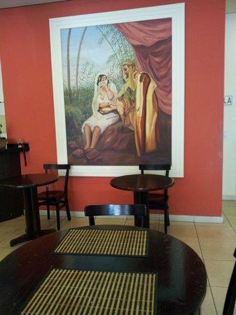 Niazi O Arabe: Painel decorativo