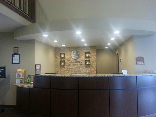 Comfort Inn & Suites Riverview : Front Desk