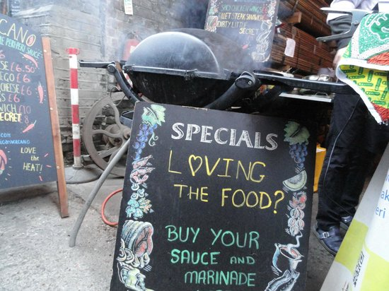 Maltby Street Market: Maltby Street Food Market - Burgers