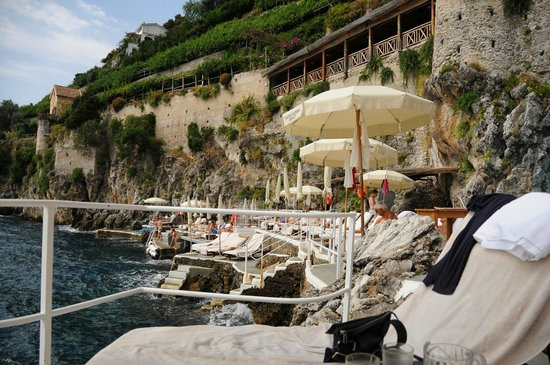 Santa Caterina Hotel: Beach Club