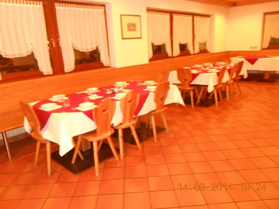 Hotel Casa Alpina : sala ristorante