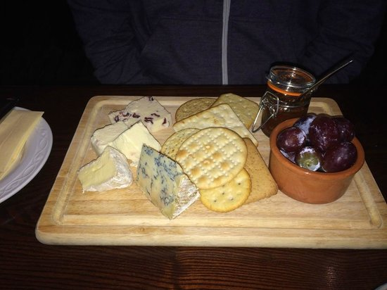 Hyltons: Cheese Board