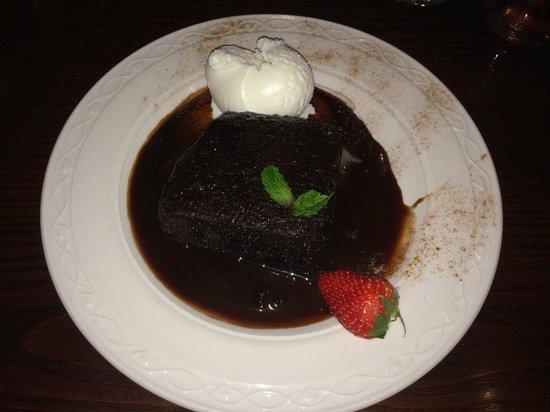 Hyltons: Hot Chocolate Pudding