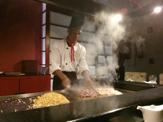 Sanctuary Cap Cana by Playa Hotels & Resorts: Teppanyaki Restaurant
