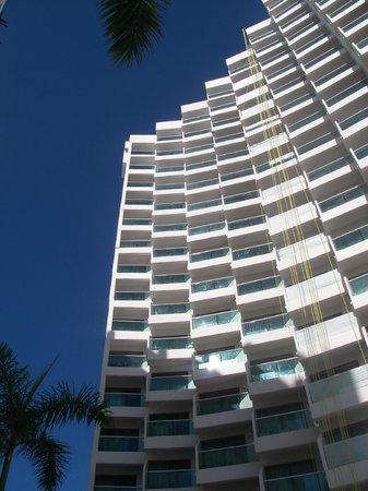Copacabana Beach Hotel: Widok zewnętrzny