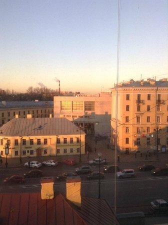 Moscow Hotel: Метро синей линии.