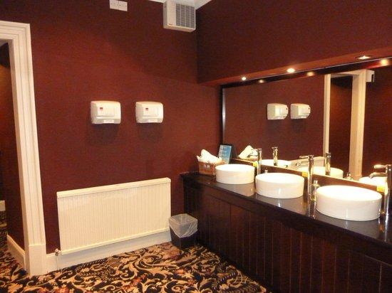 Ben Wyvis Hotel: Residents toilets
