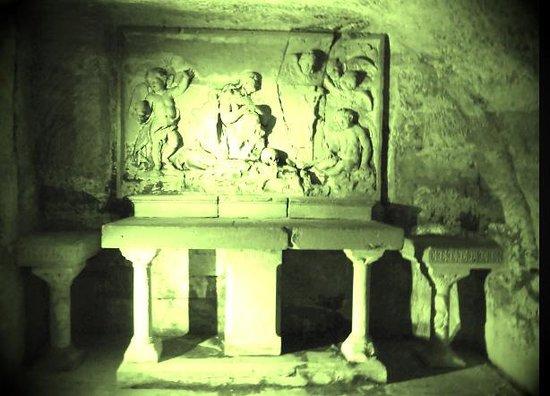Abbaye Saint Victor : crypte