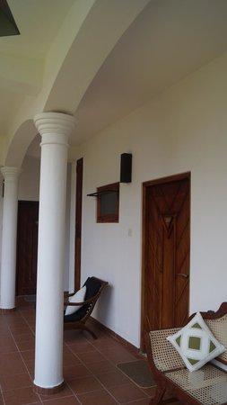 Unawatuna Nor Lanka Hotel: отель 2 этаж