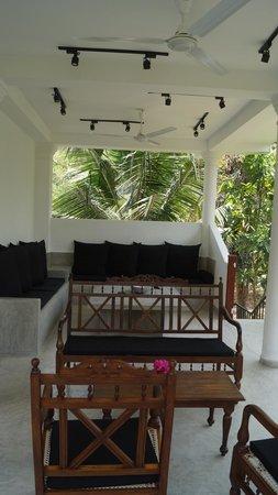 Unawatuna Nor Lanka Hotel : мой любимый уголок