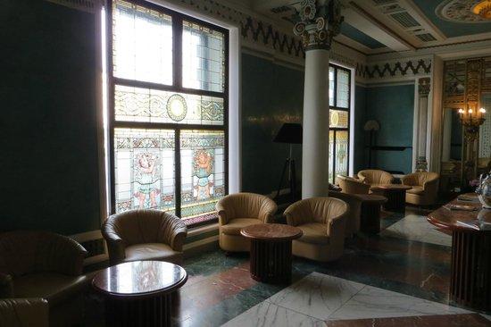 Hotel Roma: Sala de estar