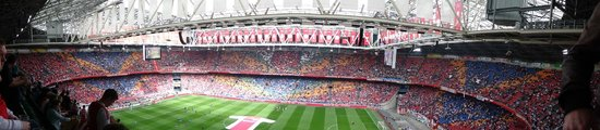 Amsterdam ArenA: Seat with a view