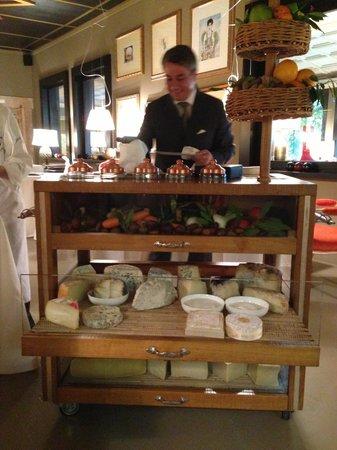 Casa Vissani : La degustazione di formaggi <3