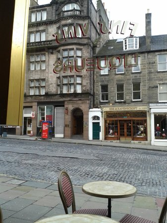 Frederick House Hotel: El hotel visto desde el desayuno