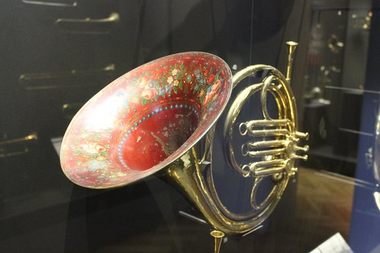 Museum für Musik (HMB): Забавная труба