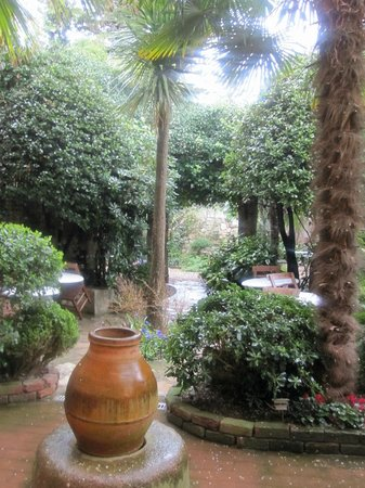 Hotel Empress Zoe: A small part of the garden