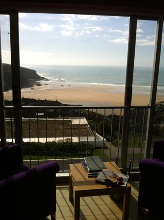 Bedruthan Hotel & Spa: View from bedroom 67