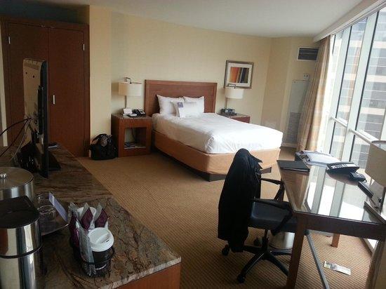 Hyatt Regency Baltimore Inner Harbor: Comfy bed